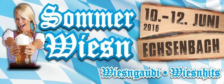 Sommer-Wiesn Echsenbach - 10.06.2016 - Echsenbach, Festgelände beim Sportplatz