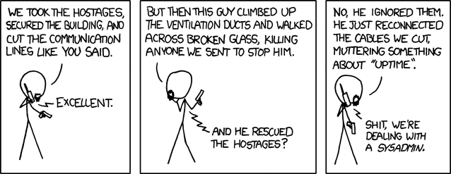 xkcd: Devotion to Duty